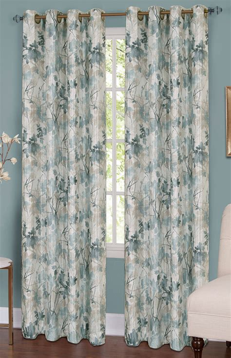 Silver Window Curtains Tranquil Blackout Lined Grommet Curtain Silver Window Treatments