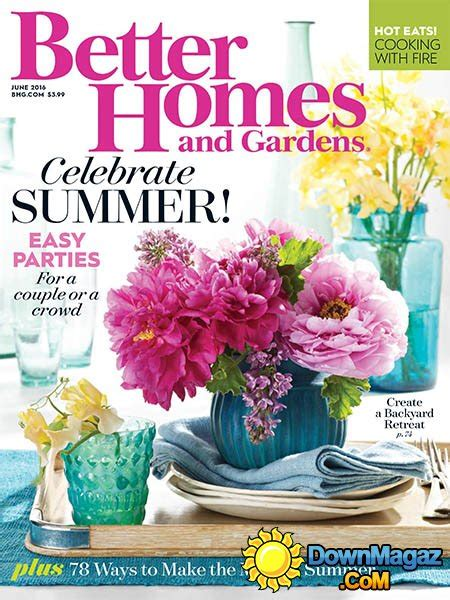 house and garden magazine usa better homes and gardens usa june 2016 187 download pdf
