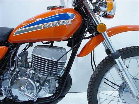 Suzuki Ts 400 For Sale Weier Here 1974 Suzuki Ts400 Bring A Trailer