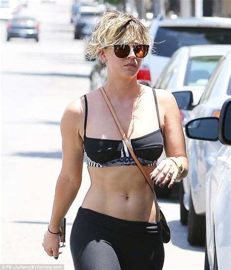 kaley cuoco why did she cut her hair penny on big bang theory with short hair