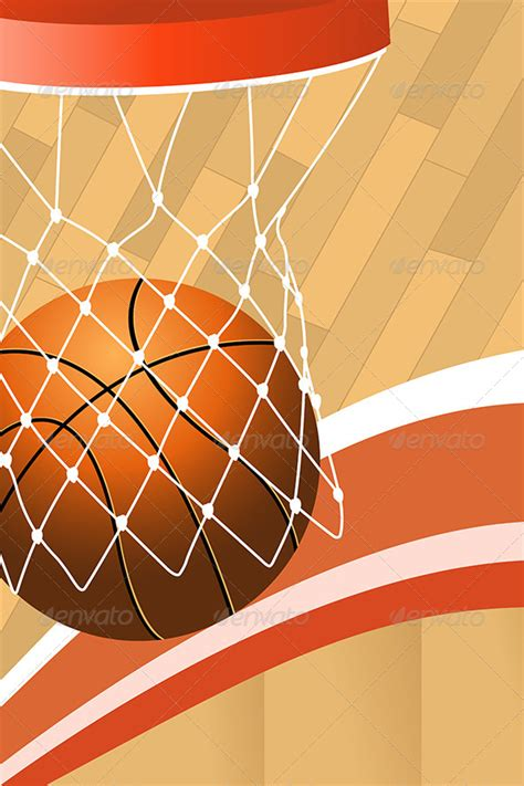 Basketball Poster Graphicriver Basketball Poster Template