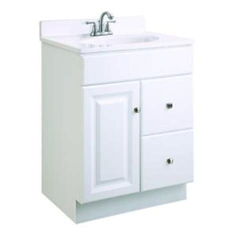 Home Depot 24 Vanity by Design House Wyndham 24 In W X 18 In D Unassembled