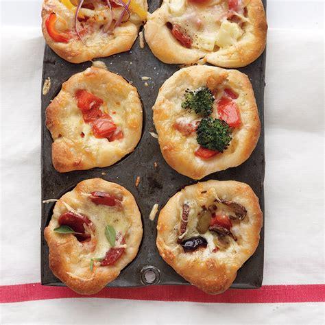 kid friendly appetizers martha stewart mini dish pizzas