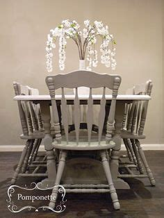 Dining Table And Chairs Leicester 1000 Images About Pomponette Vintage Painted