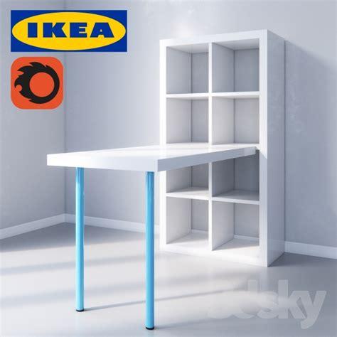 old ikea desk models 3d models table kallax