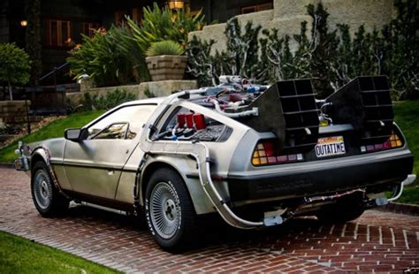 delorean with a flux capacitor for sale replica of back to the future delorean for sale minus working flux capacitor collider