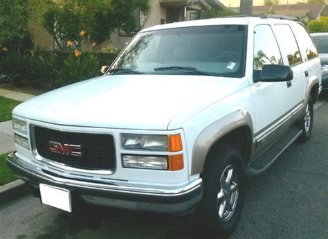 how to work on cars 1999 gmc yukon seat position control find used 1999 gmc yukon 1500 slt 138400 miles extra clean in long beach california united