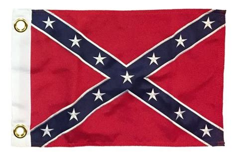 printed boat flags rebel confederate battle 12x18 printed polyester boat flag