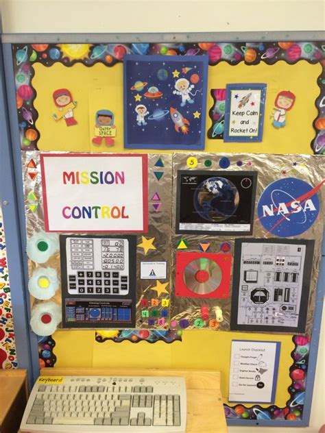 control center themes winterboard mission control center for preschool dramatic play