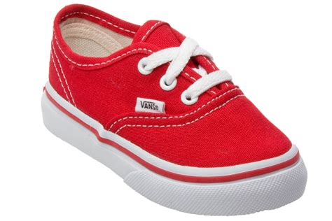shoes for toddler vans authentic toddler canvas low top trainers