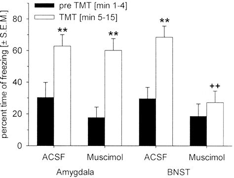 Tmt Section 1 by Temporary Inactivation Of The Bed Nucleus Of The Stria Terminalis But Not Of The Amygdala Blocks