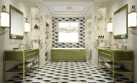 bathroom of the year bathroom decoration with greenery pantone of the year 2017