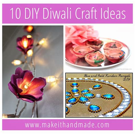 Handmade Crafts For Diwali - make it handmade 10 diy diwali craft ideas
