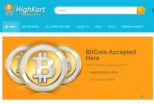 bitcoin online shop highkart becomes india s first bitcoin only online store