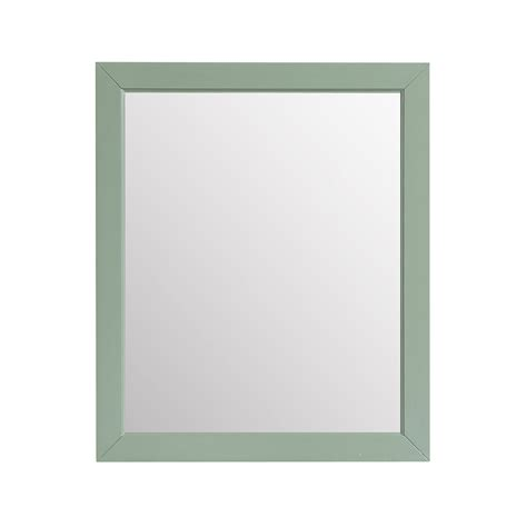 28 inch mirror mercer 28 inch mirror in sea green finish azzuri wall