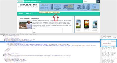 cara membuat header website dengan html cara membuat header dengan iklan 728 x 90 pada template