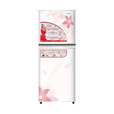 Kulkas Sharp Lemon Series 2 Pintu jual sharp new kirei ii series sj 236nd fw kulkas 2 pintu