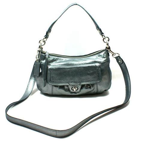 Coach Poppy Leather Groovy Swing Bag Crossbody Bag