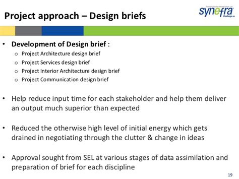 design brief guidelines suzlon one earth case study by ameya gumaste