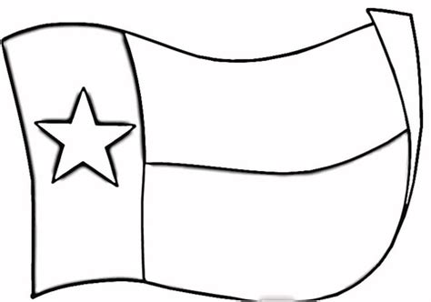 texas flag coloring page supercoloring com