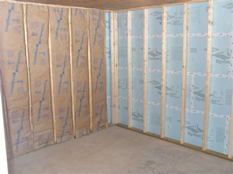 insulating concrete basement walls best methods for insulating basement walls