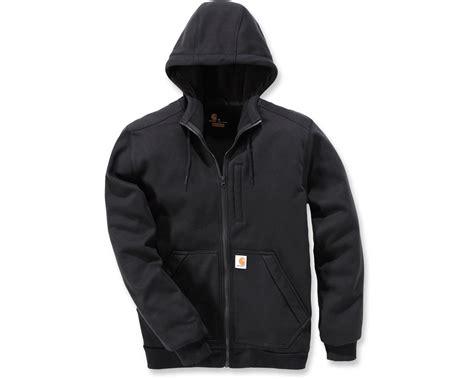 Sweatshirt Workwear Black carhartt windfighter sweatshirt 101759 mammothworkwear