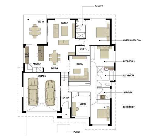 split level floor plan smek design gold coast