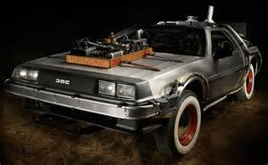 do new cars a in period delorean time machine uncrate