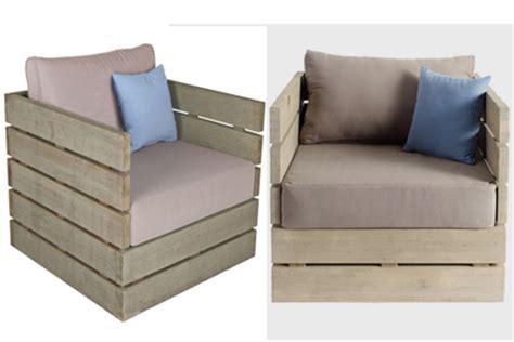 diy comfortable chair home dzine garden diy outdoor garden furniture