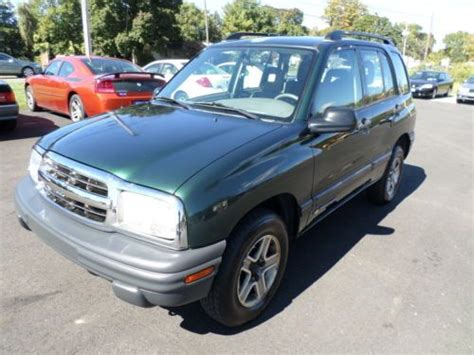 auto air conditioning repair 2003 chevrolet tracker auto manual purchase used lt suv 2 5l air conditioning dual air bags power steering power door locks clock