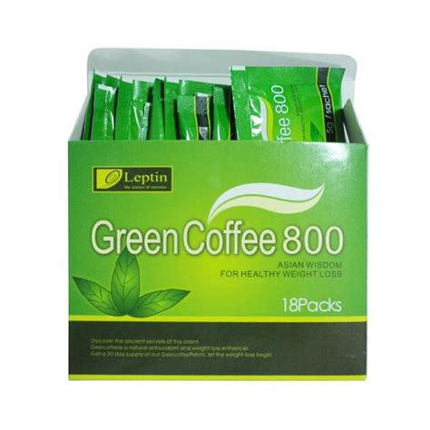 Coffee Green 800 leptin green coffee 800 bean extract for healthy weight loss dieting drink 105227975