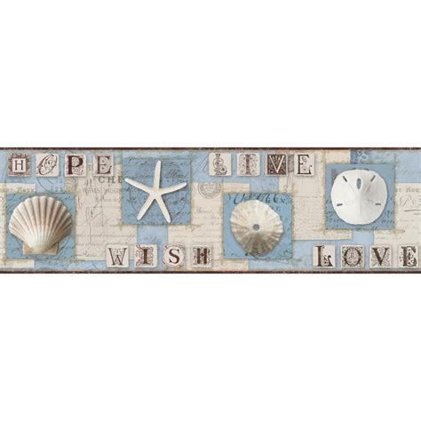York Wallcoverings 9 in. Country Sign Border PC3976BD