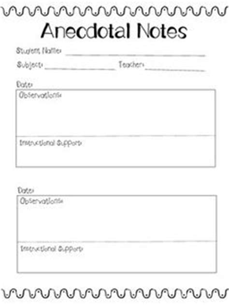 observation field notes template 1000 images about record keeping forms on