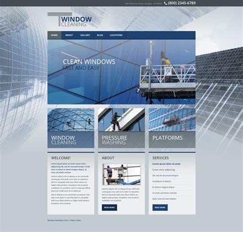 window cleaning responsive website template 45319