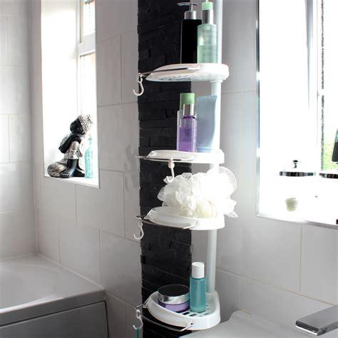 bathroom shower tidy 4 tier telescopic corner shower tidy bathroom organiser