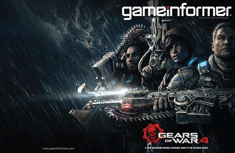 www gameinformer com april cover revealed gears of war 4 news www