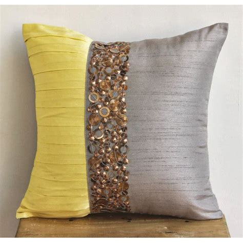 Designer Sofa Pillows 17 Best Ideas About Sofa Pillow Covers On Yellow Pillow Covers Yellow Pillows And