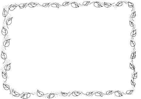 spring border clipart black and white clipartsgram com