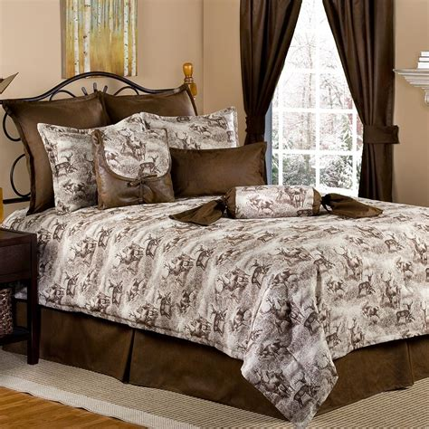 deer bedding sets crestwood pinecone bedding collection cabin place