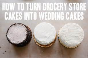 how to a trio of grocery store wedding cakes a practical wedding a practical wedding we re