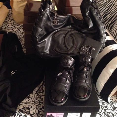 chanel boots saks chanel chanel sneaks ordered from saks they re here