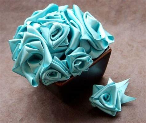 fiori con i nastri fare con un nastro bricolage