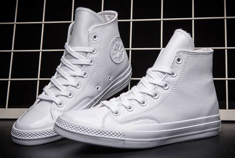 Converse All Fullwhite Sneakers Putih white leather converse 1970s chuck all high top shoes converse flag shoes and
