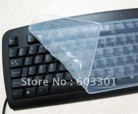 Skin Keyboard Keyboard Protector keyboard protector for desktop computer silicone keyboard skin transparent clear cover in