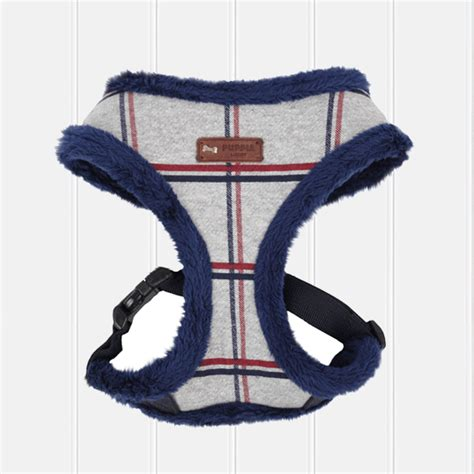 pug harness puppia grey scholastic soft puppia harness pug puffin
