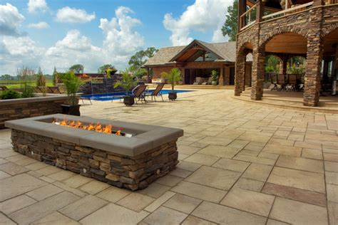 slate patio pavers slate paver patio by silver creek benson co