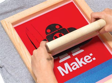 vinyl printing yoker simple silk screen printing using a vinyl cutter make