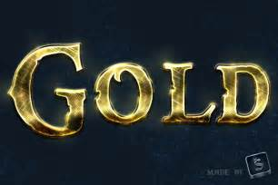 tip create a shiny gold world text effect in
