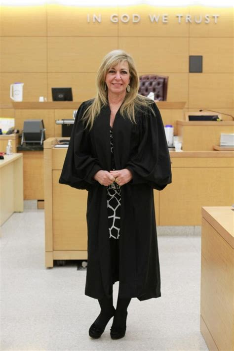 hot bench justice patricia dimango leaves brooklyn courthouse for tv