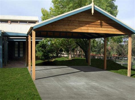 Car Port Of Ta by Wooden Carports For Protecting Your Car Decorifusta